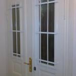 Einbau von Fenstergitter und Stangenschlösser
